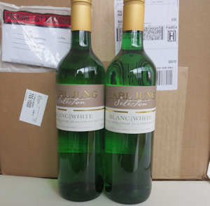 2 Cases (24 btles) White Prem/Blend Non Alcoholic Wine