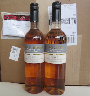 2 Cases (24 btles) Rose Prem/Blend