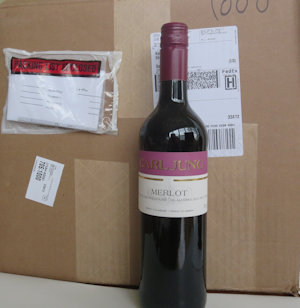 1 Case of 12 Merlot Non Alcoholic Wine