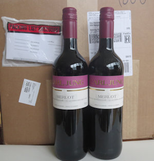 2 Cases (24 bottles) Merlot Alcohol Free Wine