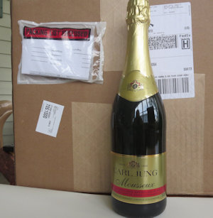 1 Case of 12 Sparkling White (Mousseaux)Non Alcoholic Wine