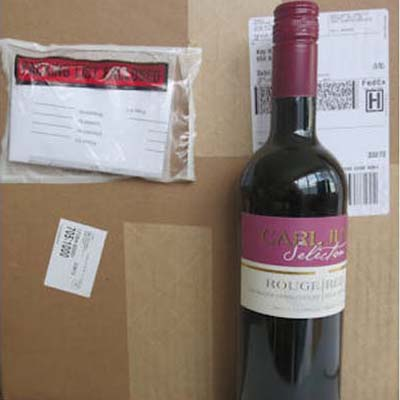 1 Case of 12 Red Alcohol Free Wine