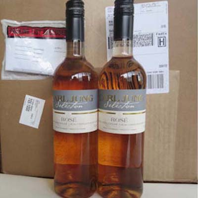 2 Cases (24 btles) Rose Prem/Blend Non Alcoholic Wine