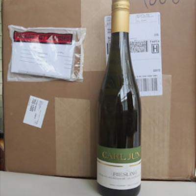 1 Case of 12 Riesling Alcohol Free Wine