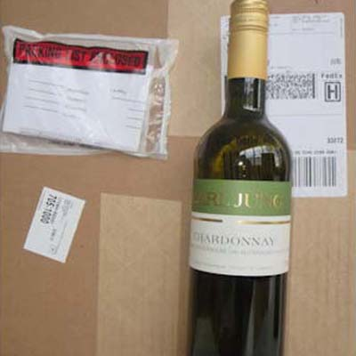 1 Case of 12 Alcohol Free Chardonnay Wine