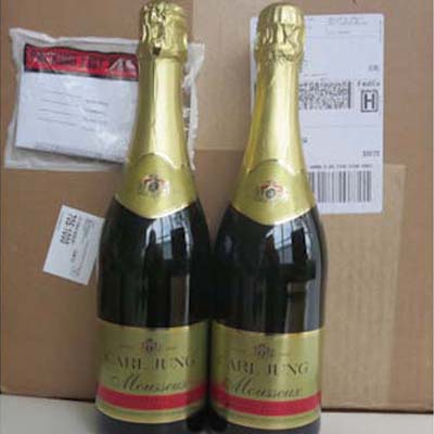 2 Cases (24 btles) Sparkling White (Mousseaux)Non Alcoholic Wine