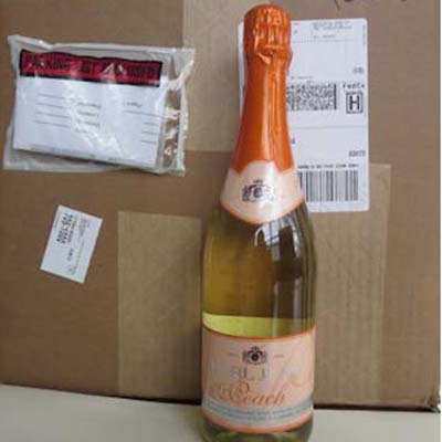 1 Case of 12 Sparkling Peach
