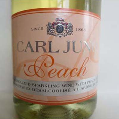 Sparkling Peach Wine